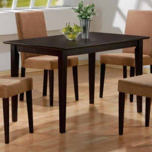 Rectangular Casual Dining Leg Table
